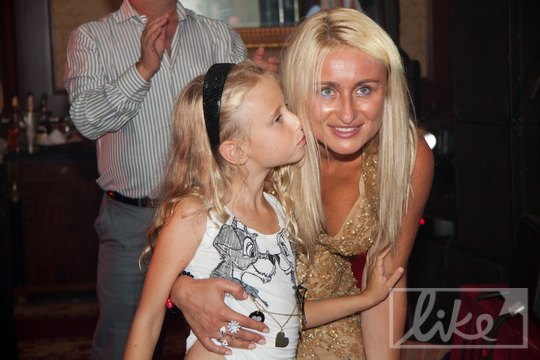 Светлана Суркис с дочкой