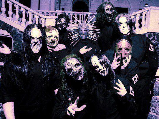 """Группа Slipknot попала на третье место среди """"ужастиков"""" в полном составе"""