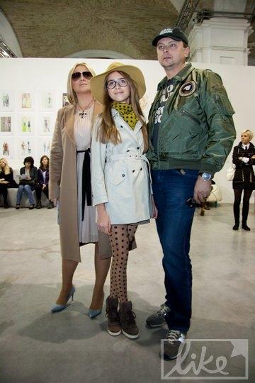 Руслан Евдокименко с супругой и дочкой Софией