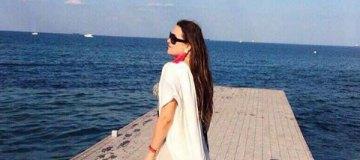 Наталья Могилевская смело позирует в купальнике на пляжах Одессы