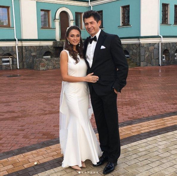 Юлия и Андрей Джеджула венчались в церкви