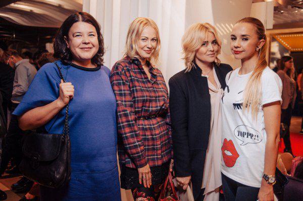 Елена Голец, Ольга Аленова, Светлана Евдокименко и Ирина Турбаевская
