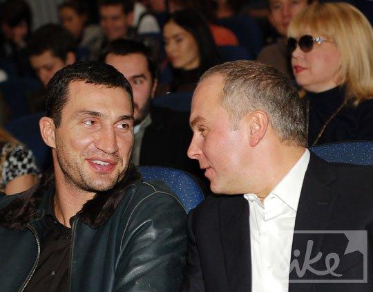 Владимир Кличко и Нестор Шуфрич