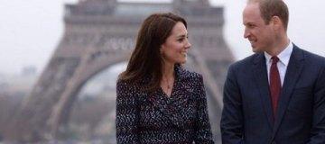 После скандала: принц Уильям и Кейт Миддлтон вместе посетили Париж