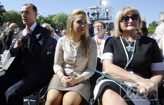 Евгения Тимошенко на Форуме объединенной оппозиции в Киеве