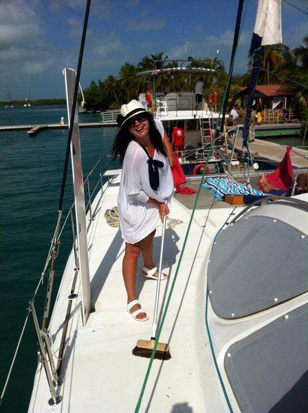 Галлина отдохнула на Карибских островах