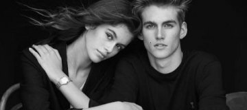 Дети Синди Кроуфорд снялись в рекламе Calvin Klein