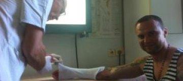 Руслан Квинта сломал руку на футболе