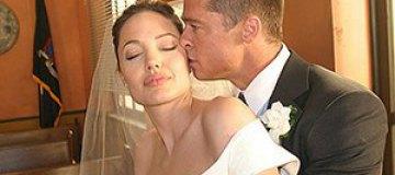 Свадьбу Джоли и Питта признали неофициальной в США
