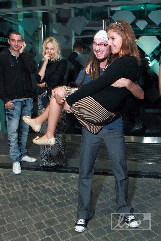 Станислав Конкин с поклонницей