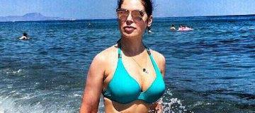 45-летняя Влада Литовченко похвасталась фигурой в бикини