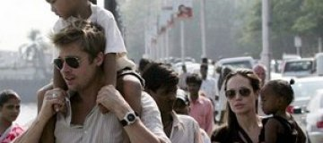 Джоли и Питт увезли всех детей во Вьетнам