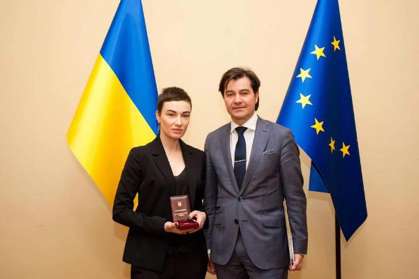 Анастасия Приходько и Евгений Нищук