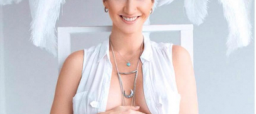 Анита Луценко родила