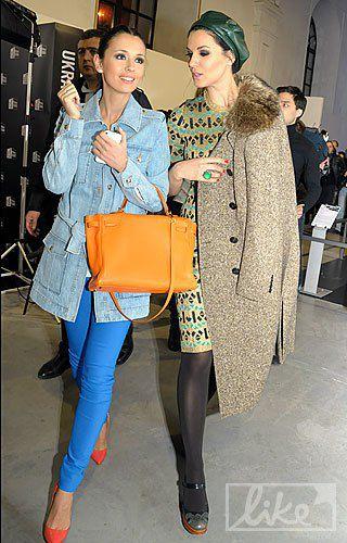 Елизавета Ющенко с сестрой Машей Ефросининой