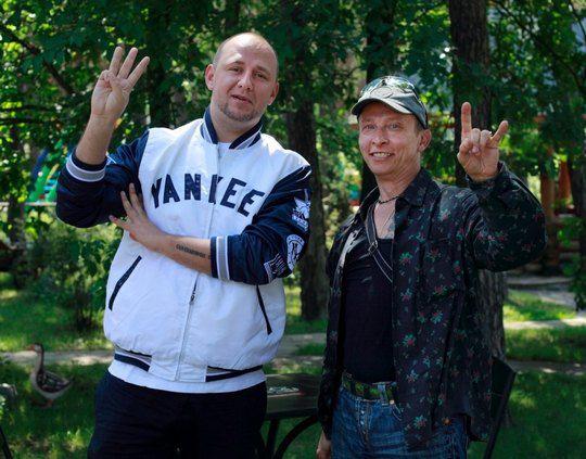 Потап и Иван Охлобыстин