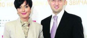 """Жена Яценюка: """"Богатство и успех - не залог счастья в семейной жизни"""""""