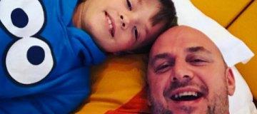 Папа на каникулы: Потап отвез сына в Альпы