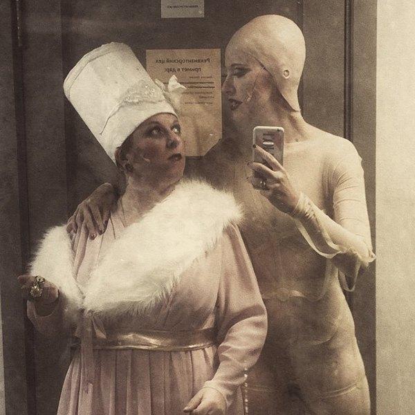Ксения Собчак и Анна Галинова