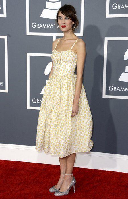 """Британская телеведущая, модель и редактор британского """"Vogue"""" Алекса Чанг"""