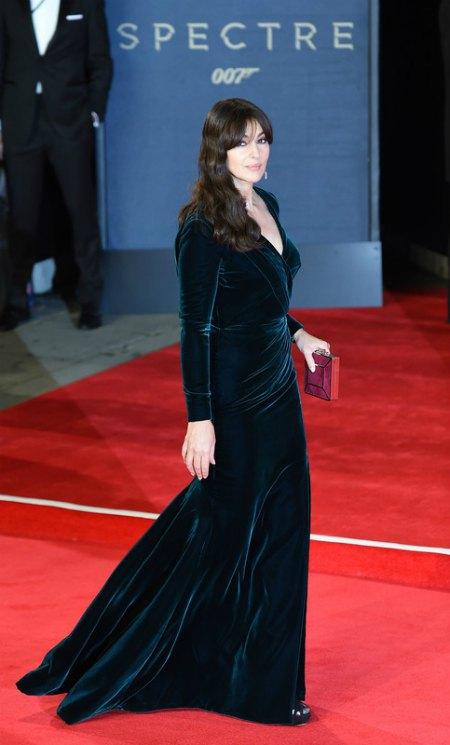 Моника Белуччи в идеальном для нее платье