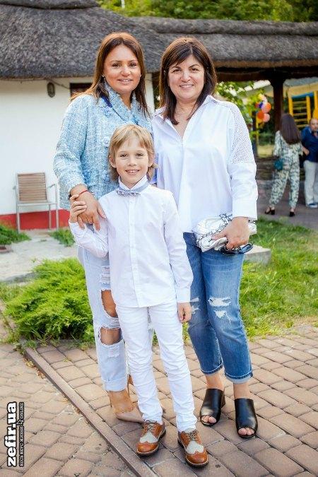 Ирэна Кильчицкая (слева) с сыном Марком