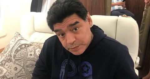 Марадона попал в больницу из-за кровотечения в желудке