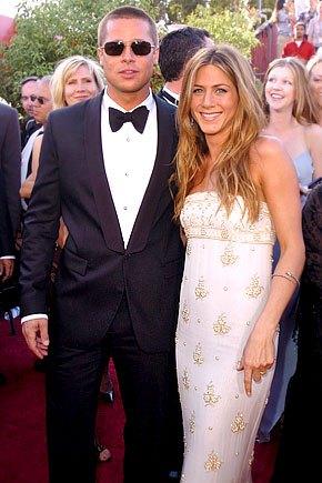 Дженнифер Энистон и Брэд Питт были женаты на протяжении 5 лет