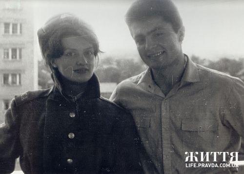 Марина и Петр Порошенко в начале 1980-х