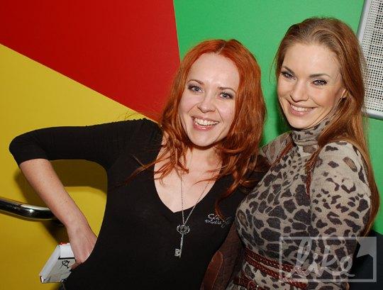 Татьяна Гончарова и Наталья Окунская