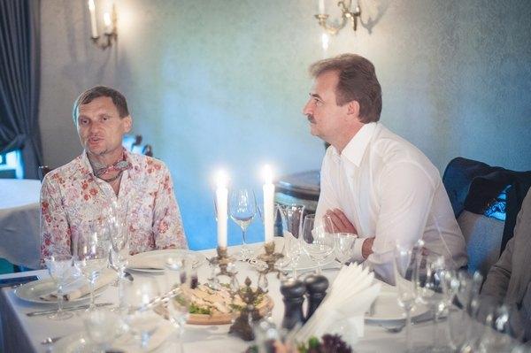 Олег Скрипка и Александр Попов