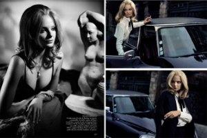 Энико Михалик в испанском Vogue