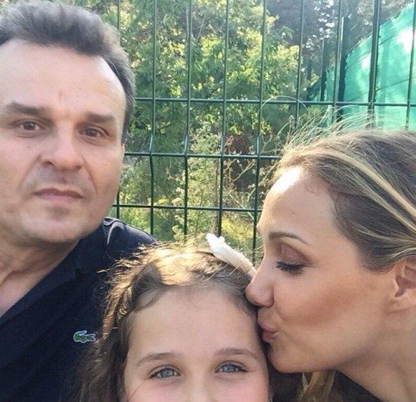 Евгения Власова и Дмитрий Костюк давно в разводе, но общаются ради общей дочери