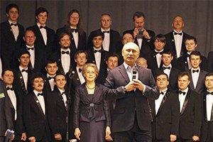 Путин сыграл на рояле для студентов