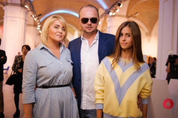 Светлана и Руслан Евдокименко с дочерью
