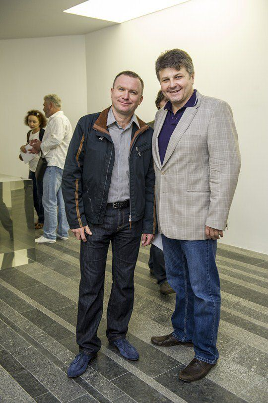 Игорь Мазепа, генеральный директор Concorde Capital, и скульптор Олег Пинчук