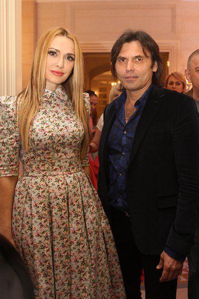 Ольга Сумская с мужем Виталием Борисюком