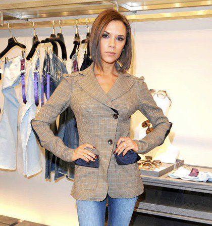 Модная линия Виктории Бекхэм пользуется популярностью