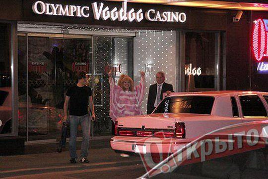 Алла Пугачева не скрывала радости от похода в рижское казино