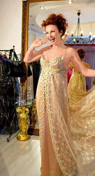 Подвенечное платье Эвелины Бледанс