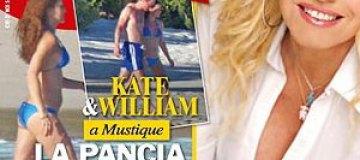 Итальянский таблоид опубликовал фото беременной Миддлтон в бикини