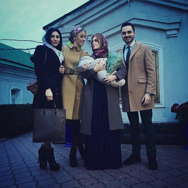 Слава, Эдгар Каминский, Катя Осадчая и крестная