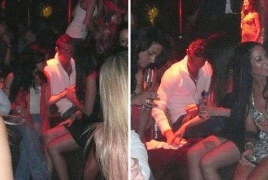 Роналду с подругой ворковали в ночном клубе