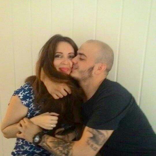 Наталья Юсупова с возлюбленным Олегом