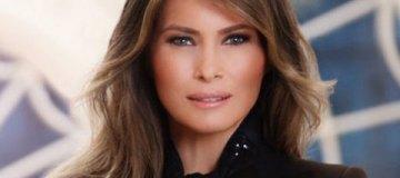 Белый дом опубликовал официальный портрет первой леди