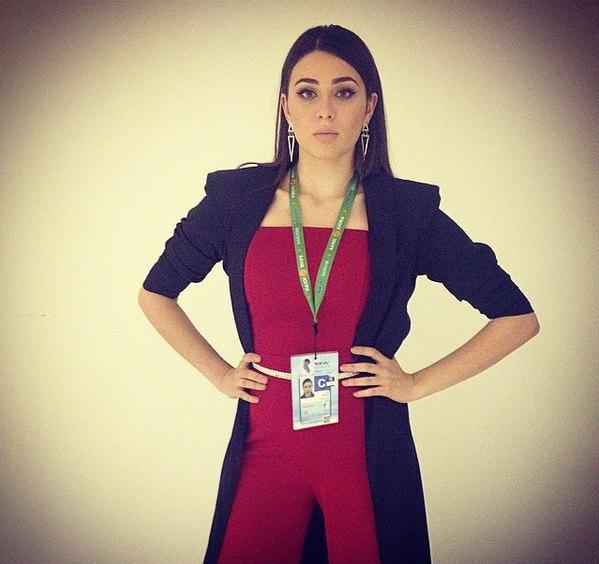 Солистка группы Анна Корсун