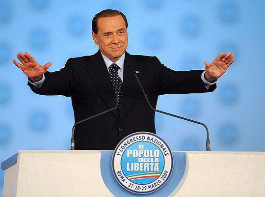 Сильвио Берлускони патриотичен и консервативен
