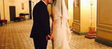 Стройный, как тростиночка, нардеп Мосийчук женился на молодой невесте
