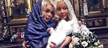 Ирина Билык покрестила братика Алины Гросу