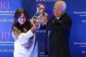 Руслана получила американскую премию за поддержку Майдана
